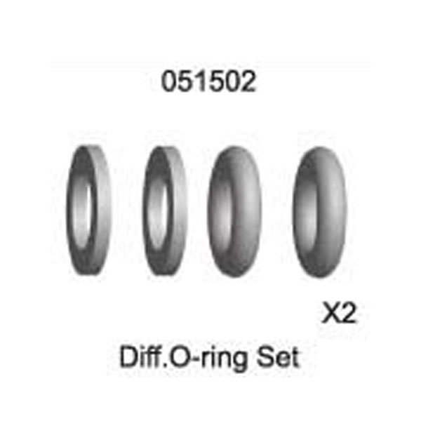 Differential O-ring Set