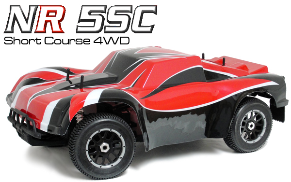 Nutech Racing NR-5SC 4WD 1/5 Scale Short Course Truck