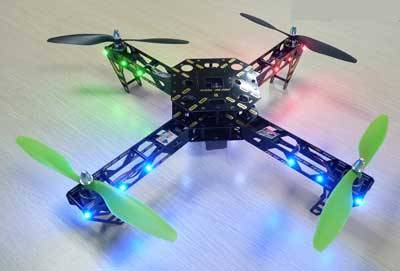 FYETECH X4 PRO QUAD COPTER WITH LED LIGHTS