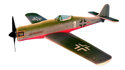 HACKER MODEL FOCKE-WULF FW 190D RED ARF 	  HACKER MODEL FOCKE-WULF FW 190D RED ARF