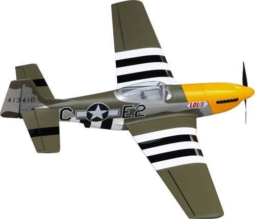 HYPERION P-51D MUSTANG 25e - LOU IV OLIVE GREEN GENUINE ORACOVER