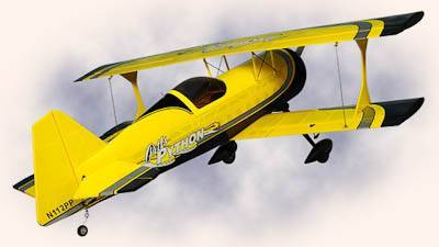 HYPERION PITTS PYTHON BI-PLANE 70E LIMITED EDITION ARF