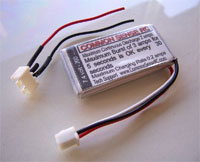 7.4 volt - 200mAh 10C Li-Poly Battery Pack