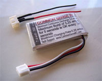 7.4 volt - 350mAh 10C Li-Poly Battery Pack
