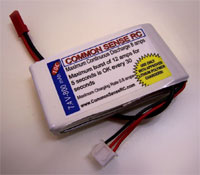 7.4 volt - 800mAh 10C Li-Poly Battery Pack