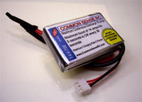 7.4 volt - 700mAh 15C Li-Poly Battery Pack