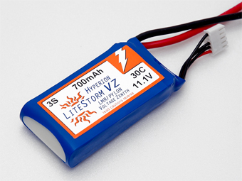 HYPERION LVZ 700 MAH 3S 30C LITHIUM POLYMER BATTERY PACK