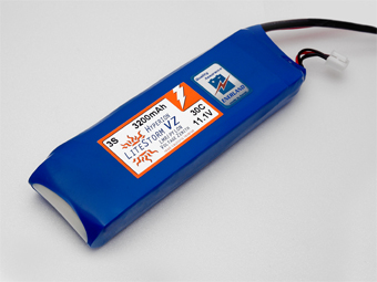 HYPERION LVZ 3200 MAH 3S 30C LITHIUM POLYMER BATTERY PACK