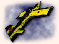 "HYPERION YAK 55 ""PROFILE"" 3D ARF KIT WITH POWER SET"