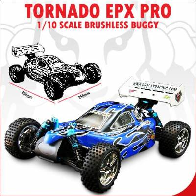 Tornado EPX PRO 1/10 Scale Brushless Buggy