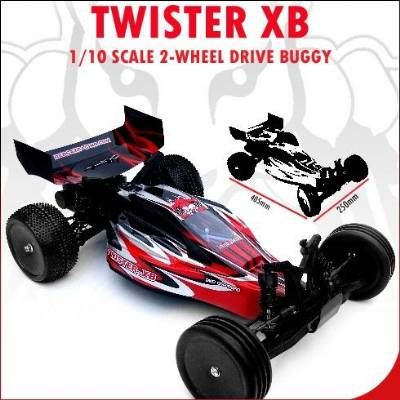 Twister XB 1/10 Scale 2-Wheel Drive Buggy