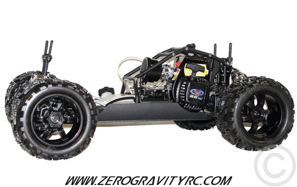 Nutech Racing Mega Monster Truck 4WD 1/5 Scale ROLLING CHASSIS