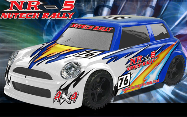 Nutech Racing NR-5 Rally 4WD 1/5 Scale 27cc 4 Bolt CY RTR