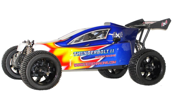 Nutech Racing THUNDERBOLT II 4WD 1/5 Scale 26cc RTR Blue