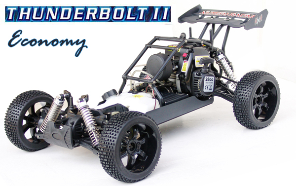 Nutech Racing THUNDERBOLT II Economy 4WD 1/5 Scale 28cc RTR