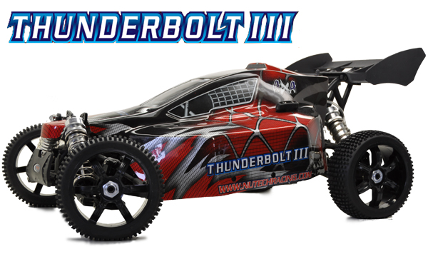 Nutech Racing THUNDERBOLT III 4WD 1/5 Scale 27cc RTR