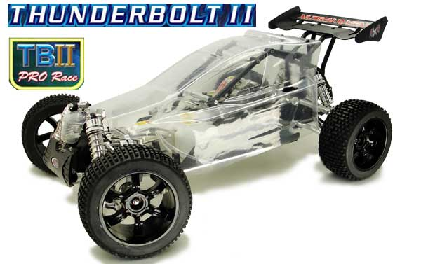 Nutech Racing THUNDERBOLT II PRO 4WD 1/5 Scale ROLLING CHASSIS